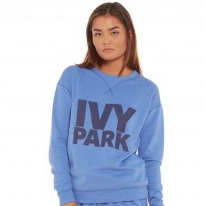 IVY PARK blue sweatshirt